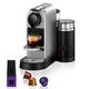 Nespresso CitiZ by Breville Espresso Machine with Aeroccino3 Frother, Silver