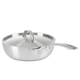 Viking Professional 5-Ply Stainless Steel Saucier, 3 qt.