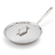 All-Clad d5 Brushed Stainless Steel Skillet with Lid