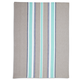 Seafoam Medium-Striped Kitchen Towel