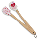Valentine Hearts Mini Spatulas, Set of 2