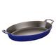 Staub Marin Oval Roasting Dish, 1 qt.