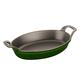 Staub Basil Oval Roasting Dish, 1 qt.