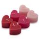 Valentine's Tealight Candles, Set of 6