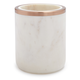 Marble and Rose Gold Utensil Crock