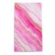 Marble Rose Paper Guest Napkins, Set of 15