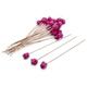 Pom Pom Swizzle Sticks, Set of 24