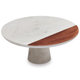 Marble and Copper Cake Stand