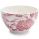 Floral Pink Cereal Bowl