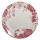 Floral Pink Salad Plate