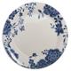 Blue Floral Salad Plate