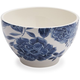 Blue Floral Cereal Bowl