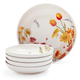 Floral 5-Piece Pasta Bowl Set