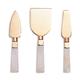 Rose Quartz 3-Piece Cheese Knife Set