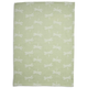 Jacquard Green Dragonfly Kitchen Towel, 28