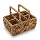 Water Hyacinth Flatware Caddy