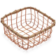 Rose-Gold Wire Basket