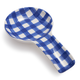 Blue Gingham Spoon Rest
