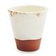 White Terra Cotta Flower Pot