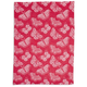 Jacquard Pink Butterfly Kitchen Towel, 28