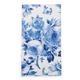 Blue Rose Paper Guest Napkin, Set of 16