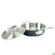 Viking Hard Anodized Stainless Steel Sauté Pan with Lid