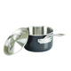 Viking Hard Anodized Stainless Steel Saucepan with Lid