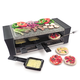 Lorcarno Raclette Pizza Grill with Granite Stone Top