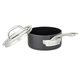 Viking Hard Anodized Nonstick Saucepan with Lid, 1 qt.