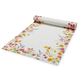Garden Floral Linen Table Runner