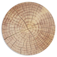 Round Wood Slice Placemat