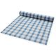 Blue Gingham Paper Table Runner