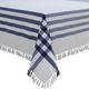 Blue Picnic Check Tablecloth, 75