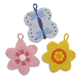 Floral Dish Scrubbies, Set of 3