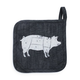 BBQ Pig Pot Holder