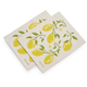 Swedish Lemon Dishcloths, Set of 2