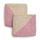 Crochet Angled Dishcloths, Set of 2