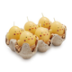 Chicken Egg Candles, Set of 6
