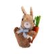 Easter Sisal Bunny Figures