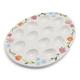 Floral Egg Platter