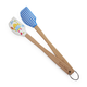 Sur La Table Mini Chick and Gingham Spatulas, Set of 2