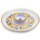 Floreale Melamine Chip and Dip Dish