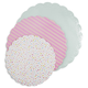 American Crafts Sweet Tooth Fairy Pastel Cake Plates, Set of 3