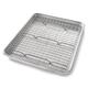 USA Pan Quarter Sheet Nonstick Pan and Bakeable Nonstick Cooling Rack Set