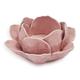 Floral Pink Tealight Holder