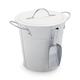 Galvanized Ice Bucket, 1.5 Gallon