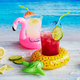 Tropical Inflatable Drink Holders