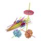 Tropical Umbrella Straws