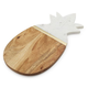 Pineapple Marble & Wood Cheese Board