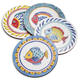 Positano Fish Coasters, Set of 4